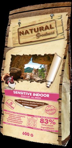 Imagem de NATURAL GREATNESS | Sensitive Indoor Cat Adult