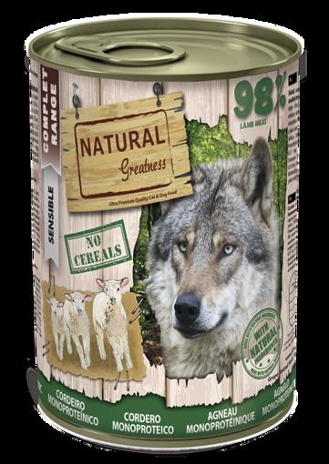 Imagem de NATURAL GREATNESS | Wet Complet Sensible Lamb Monoprotein 400 g