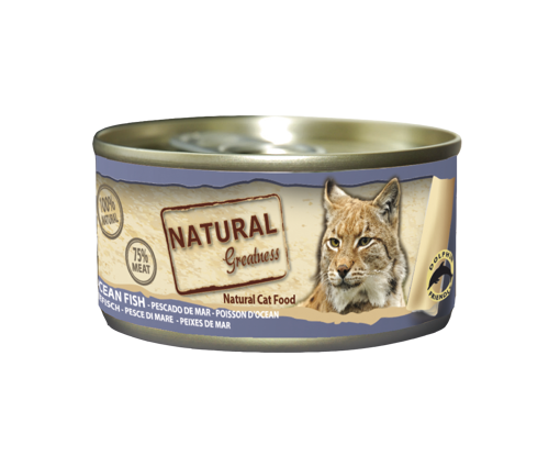 Imagem de NATURAL GREATNESS | Wetfood Cat Ocean Fish 70 g