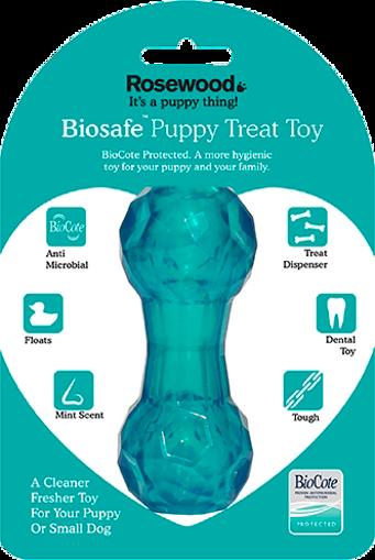 Imagem de BIOSAFE | Puppy Treat Toy Bone