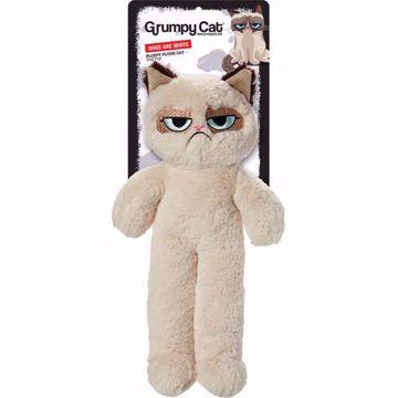 Imagem de GRUMPY CAT | Floopy Plush Cat & Dog Toy