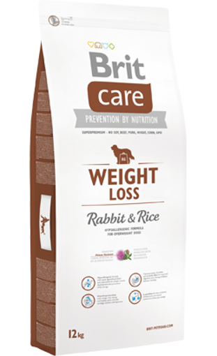 Brit Care Dog Weight Loss Adult All Breeds | Rabbit & Rice