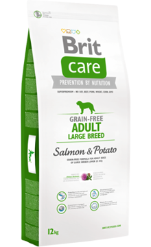 Brit Care Grain-free Dog Adult Large Breed | Salmon & Potato