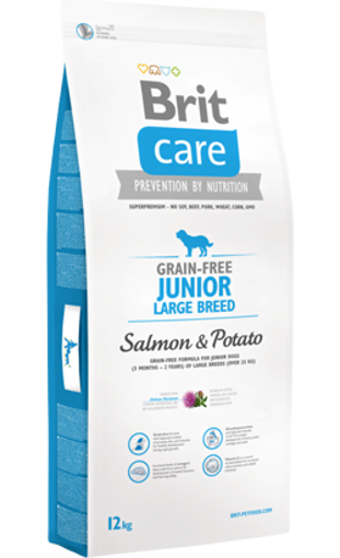 Brit Care Grain-free Dog Junior Large Breed   Salmon & Potato