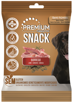happyOne Premium Snack Cão Borrego 100g