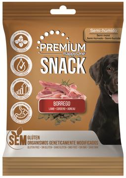 happyOne Premium Snack Cão Borrego 100g
