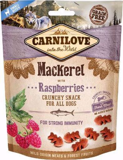 Imagem de CARNILOVE Dog | Crunchy Snack Mackerel & Raspberries 200 g