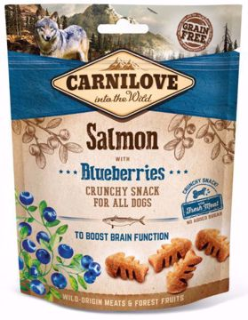 Imagem de CARNILOVE Dog | Crunchy Snack Salmon with Blueberries 200 g