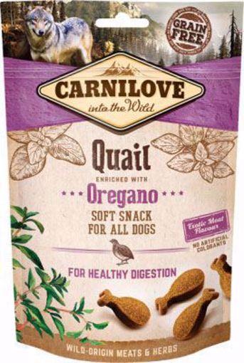 Imagem de CARNILOVE Dog | Soft Snack Quail & Oregano 200 g