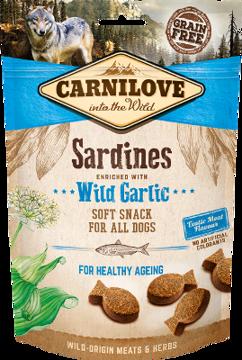 Imagem de CARNILOVE Dog | Soft Snack Sardines & Wild Garlic 200 g
