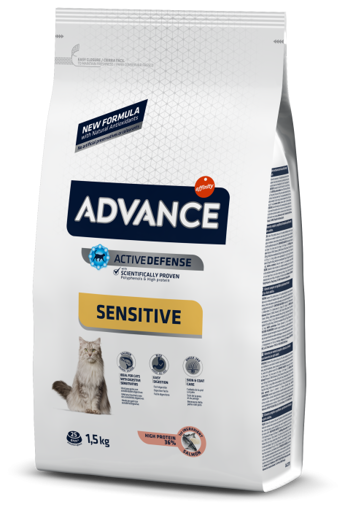 Imagem de ADVANCE Cat   Adult Sensitive Salmon & Rice