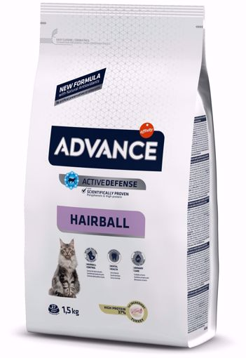 Imagem de ADVANCE Cat | Hairball Turkey & Rice 1,5 kg