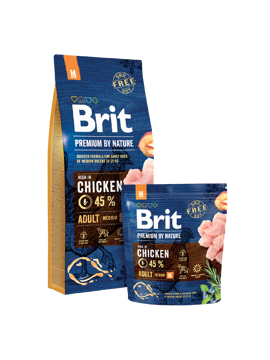 Imagem de BRIT Premium by Nature | Dog Adult M 15 kg