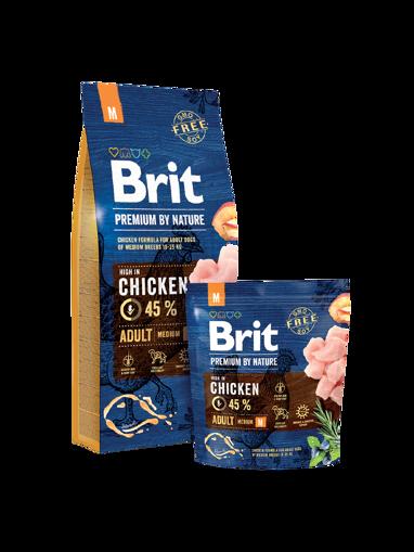 Imagem de BRIT Premium by Nature   Dog Adult M, 15 kg
