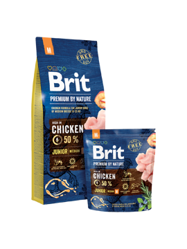 Imagem de BRIT Premium by Nature | Dog Junior M