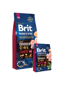 Imagem de BRIT Premium by Nature | Dog Senior L+XL