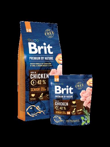 Imagem de BRIT Premium by Nature | Dog Senior S+M