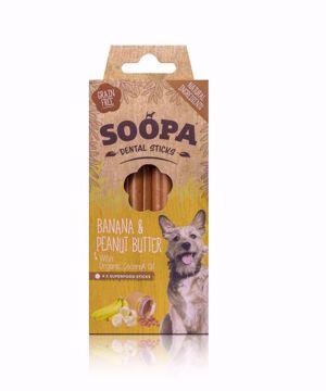 Imagem de SOOPA | Palitos Dentais Banana & Manteiga de Amendoim 100 g