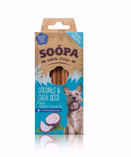 Imagem de SOOPA | Palitos Dentais Côco & Chia 100 g