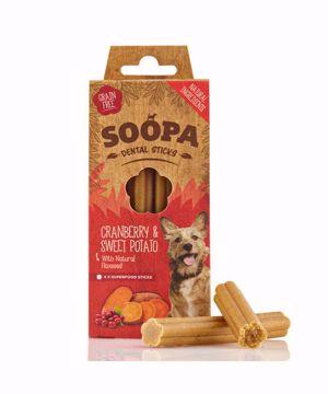 Imagem de SOOPA | Palitos Dentais Arando & Batata Doce 100 g