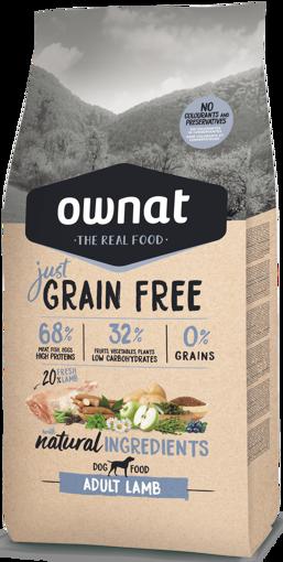 Imagem de OWNAT Cão   Just Grain Free Adult Lamb