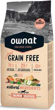 Imagem de OWNAT Cão | Just Grain Free Salmon & Seafood
