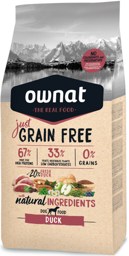 Imagem de OWNAT Cão | Just Grain Free Duck