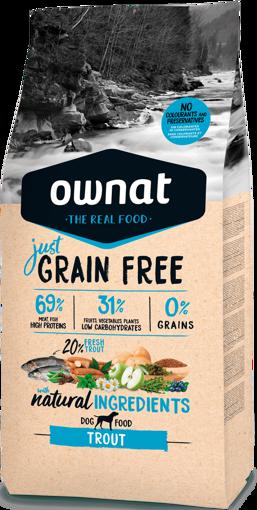 Imagem de OWNAT Cão | Just Grain Free Trout