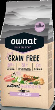 Imagem de OWNAT Gato | Just Grain Free Sterilized