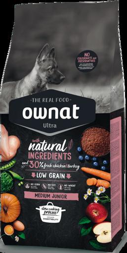 Imagem de OWNAT Cão   Ultra Medium Junior
