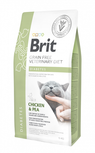 Imagem de BRIT VETERINARY DIET | Cat Diabetes Grain-Free Chicken & Pea
