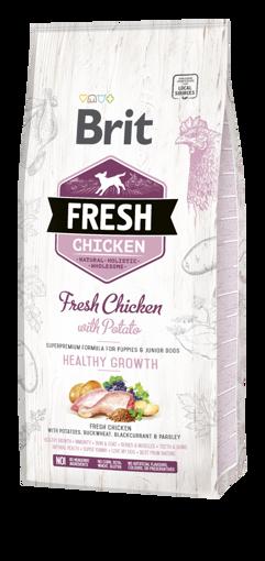 Imagem de BRIT Fresh | Chicken With Potato Puppy Health Growth 12 kg