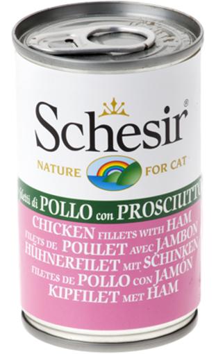 Imagem de SCHESIR | Lata Filete de Frango com Presunto em Gelatina Natural 140 g