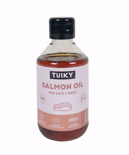 Imagem de TUIKY   Óleo de Salmão 100% Puro & Natural 250 ml