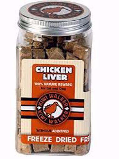 Imagem de KIWI WALKER   Biscoitos Naturais Fígado de Frango Desidratado 105 g