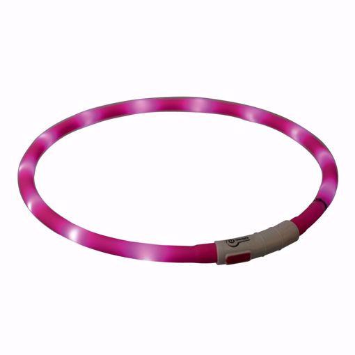 Imagem de TRIXIE | Colar Flasher USB Rosa