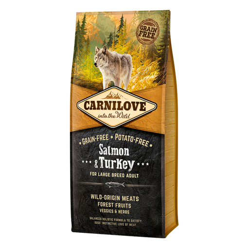 Imagem de CARNILOVE Dog | Salmon & Turkey Adult Large Breed