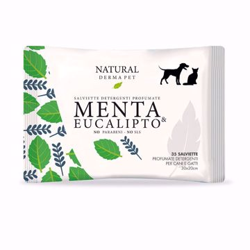 Imagem de NATURAL DERMA PET | Toalhitas Menta & Eucalipto