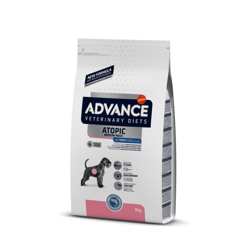 Imagem de ADVANCE Veterinary Diets   Dog Atopic Medium-Maxi with Trout