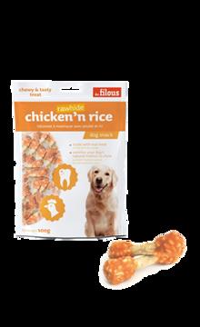 Imagem de LES FILOUS | Snack Chicken & Rice Rawhide 100 g