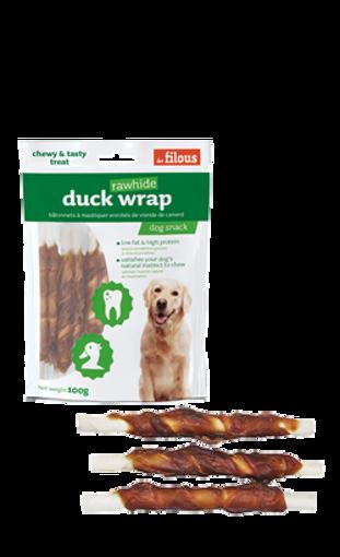 Imagem de LES FILOUS | Snack Duck Wrap Rawhide 100 g
