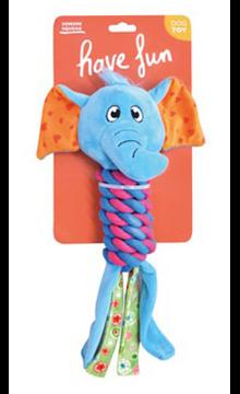 Imagem de EUROSIAM | Brinquedo Elephant With Rope Body