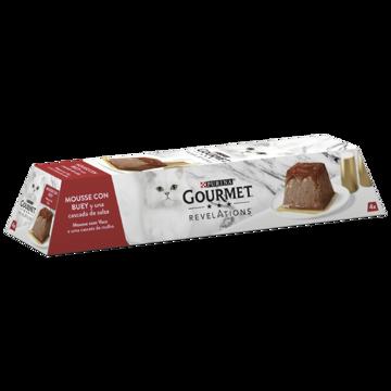 Imagem de GOURMET REVELATIONS | Mousse com Vaca e uma Cascata de Molho | 4 x 57 g