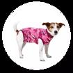 Imagem de SUITICAL Dog | Recovery Suit® - Fato de Recuperação pós Cirurgico | Pink Camo