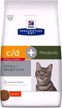 Imagem de HILL'S | Prescription Diet™ Feline Metabolic + Urinary Stress Chicken 4 kg
