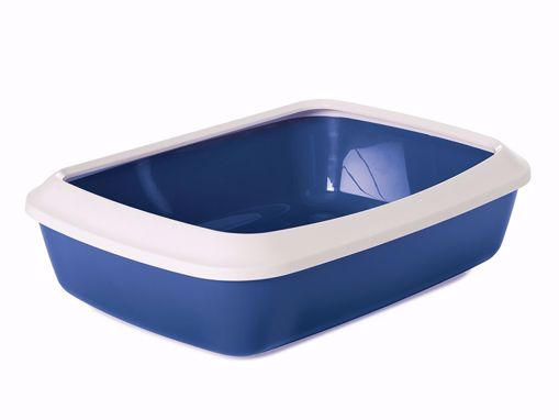 Imagem de SAVIC   Caixa de Areia Iriz + Rebordo amovível   Azul Nórdico