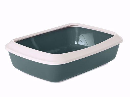 Imagem de SAVIC | Caixa de Areia Iriz + Rebordo amovível | Verde Nórdico